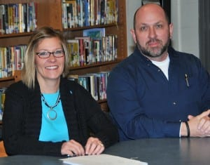 EDON BOARD OF EDUCATION OFFICERS … During its Reorganization meeting, members of the Edon Northwest Local Board of Education elected Jill Jacoby and Brad McCrea to serve as President and Vice President, respectively, throughout 2013.