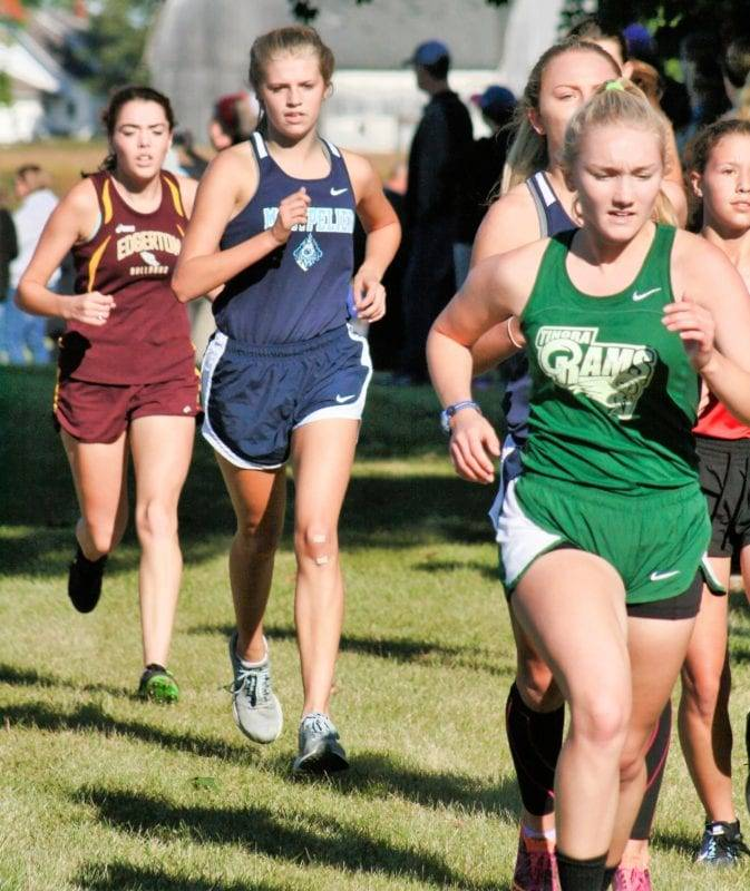 Fayette, Hilltop, Montpelier, North Central, Stryker @ Edgerton Cross Country Invitational